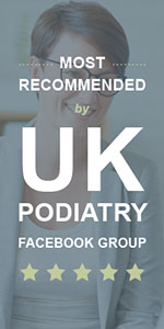 MOST RECOMMENDED by the UK Podiatry Facebook Group